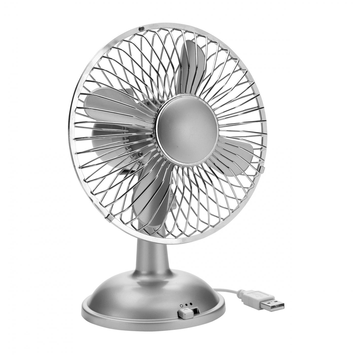 ventilator l fter usb batterie unterwegs pc laptop b ro 14 cm silber ebay. Black Bedroom Furniture Sets. Home Design Ideas