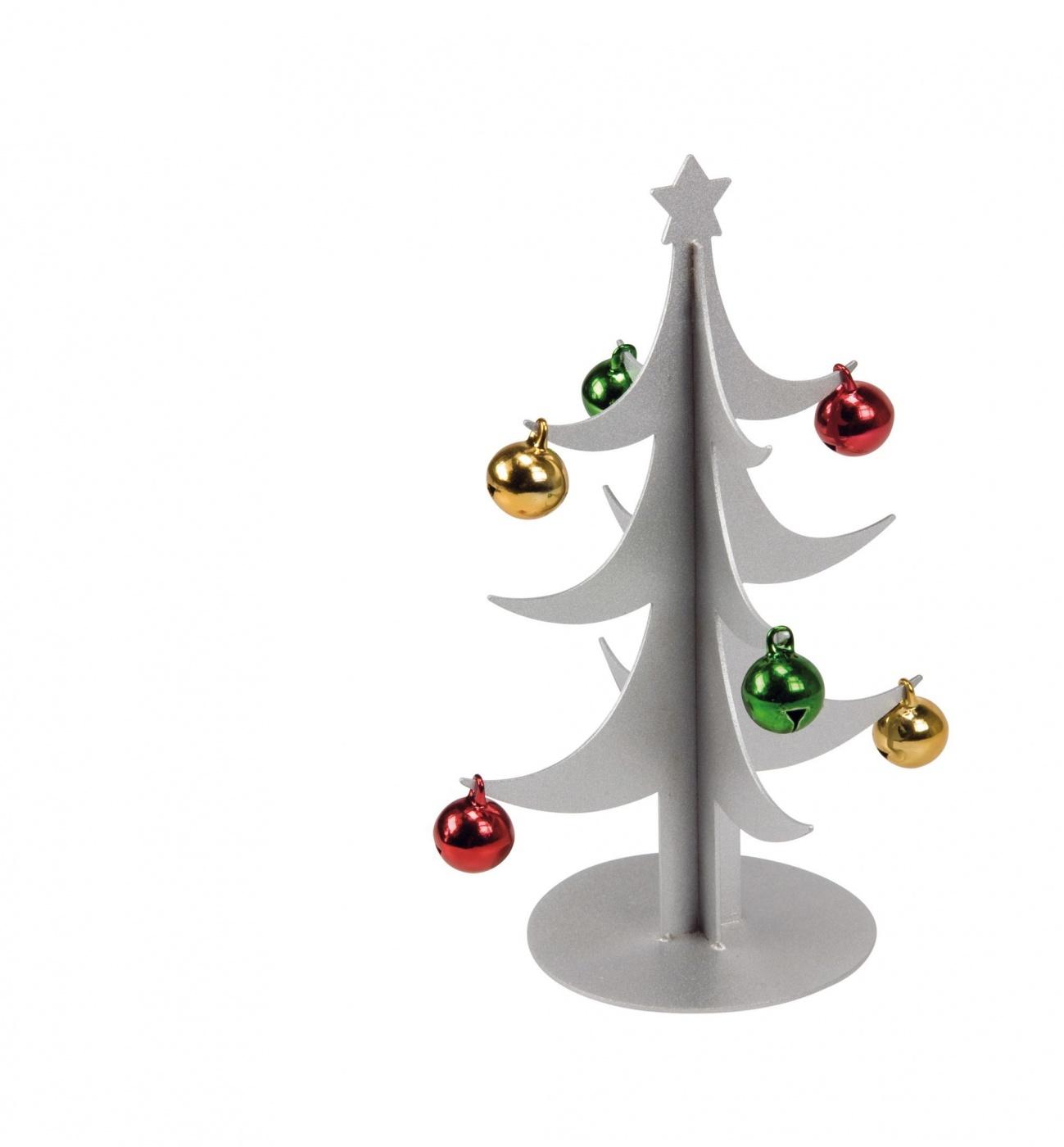 miniatur deko weihnachtsbaum aus metall mit farbigen. Black Bedroom Furniture Sets. Home Design Ideas